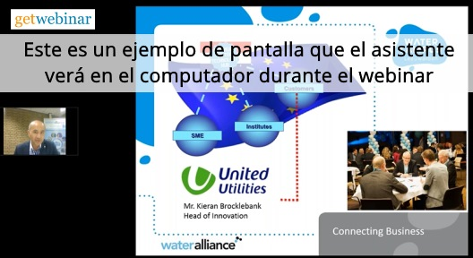 Reunión dentro de una compañia utilizando Webinar